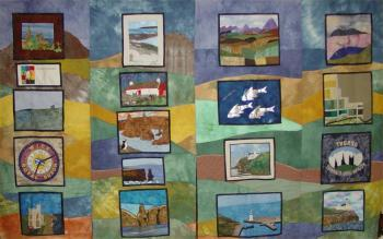 Photograph of Caithness Quilters
