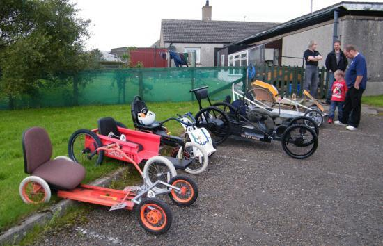 Photograph of Karting Day Success For Thurso Rotary