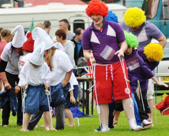 Photograph of It's A Knockout At Wick Gala 2012