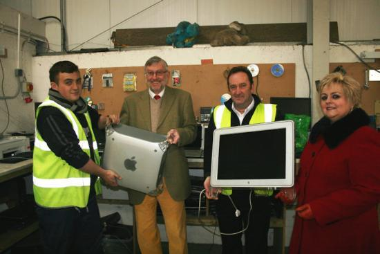 Photograph of Householders reminded of recycling service for electrical items that have lost their spark