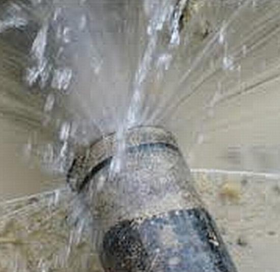 Photograph of Burst and Frozen Pipes Can Be Avoided