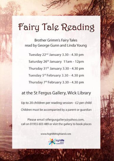 Photograph of Fairy Tale Readings At Wick Library