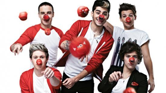 Photograph of Celebrities call on Scotland to get Red Nose Day ready!