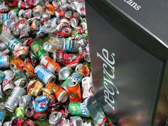 Photograph of Cash for cans and bottles