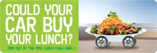Photograph of Could Your Car Buy You Lunch?