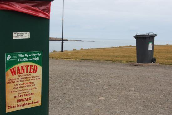 Photograph of Council takes enforcement action on dog fouling and littering in Caithness