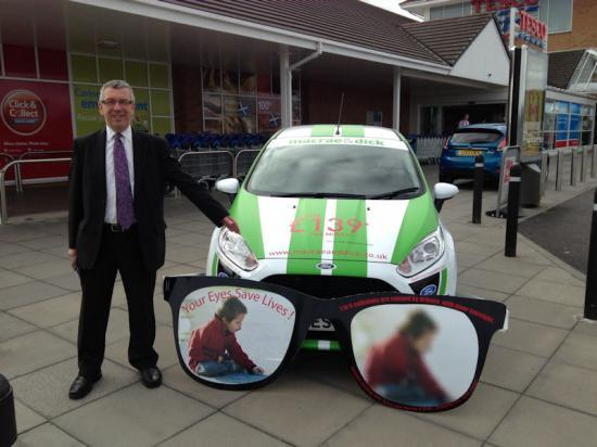Photograph of MSP David Stewart Highlights FREE Eye Tests For Drivers