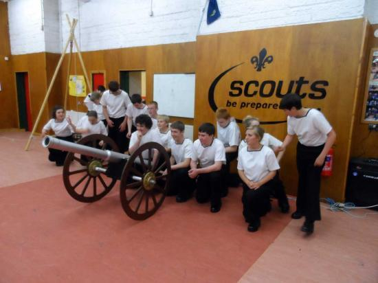Photograph of Wick Sea Cadets Inspection