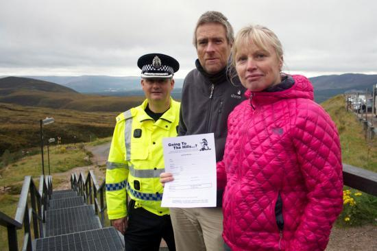 Photograph of Going to the Hills? Police and partners in Highlands and Islands re-launch updated contact form