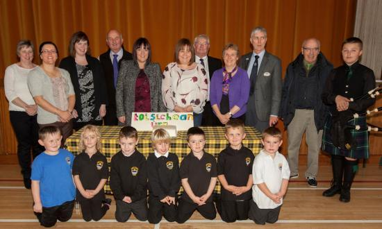 Photograph of Celebration C�ilidh Marks Medium Education at Mount Pleasant Primary School