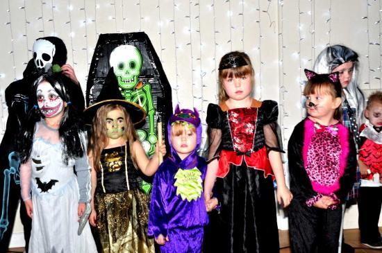 Photograph of Keiss Halloween Party