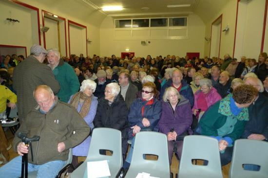 Photograph of Over 500 Turn Out -  Castletown Pharmacy Protest - Save Our Surgeries
