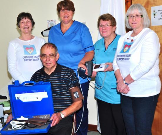 Photograph of New Equipment For Lybster From Caithness Heart Support Group