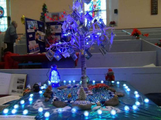 Photograph of Christmas Tree Festival At Wick St Fergus Church