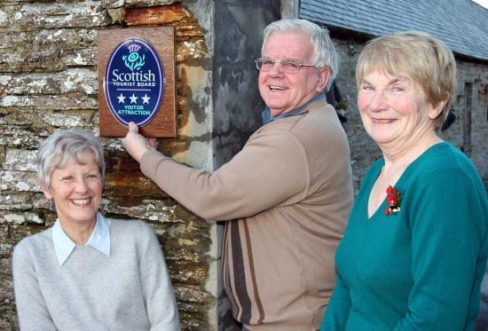 Photograph of Castlehill Heritage Centre Gained 3 Star Award From Visit Scotland
