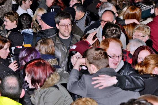 Photograph of KIRK LANE VENUE VOTED TOPS BY NEW YEAR REVELLERS