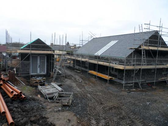 Photograph of New Wick Children's Home Progress
