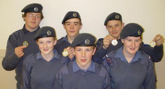 Photograph of Caithness Air Cadets Hit Success In Athletics Competitions