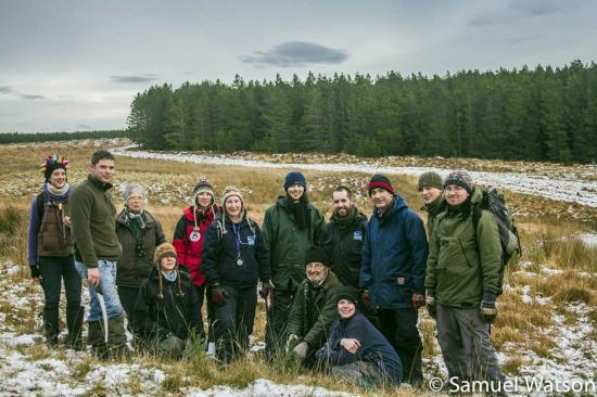Photograph of Caithness Countryside Volunteers Help Out At Forsinain