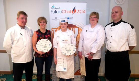 Photograph of Regional FutureChef Winner Meganne Heads to Nationals with Course Tutor