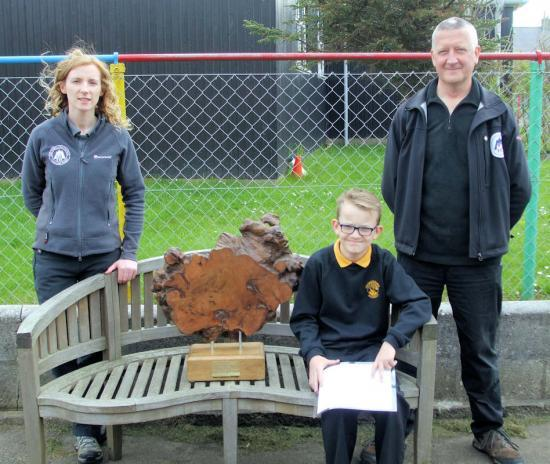 Photograph of Pulteneytown Pupil Wins Young Ranger Trophy