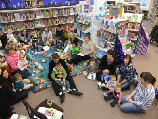 Photograph of Bookbug Going Strong In Wick