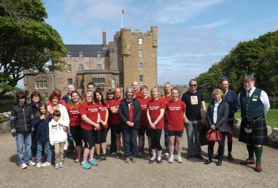 Photograph of North Highland Initiative Team Walks, Runs & Cycles For Befriending Caithness