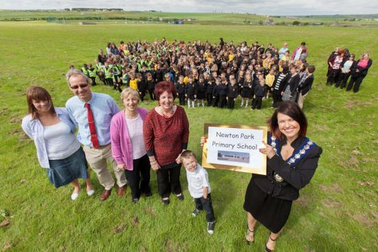 Photograph of Names announced for new Wick primary schools