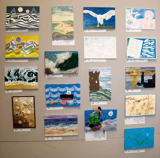 Photograph of Postcard SEA Fundraiser and Exhibition Sees Steady Bids On Pictures