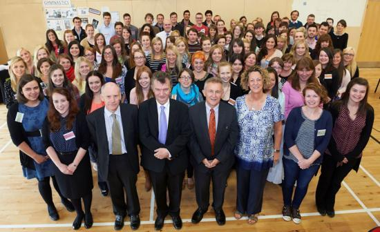 Photograph of Probationer teachers welcomed to the Highlands for 2014