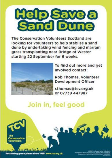 Photograph of Help Save A Sand Dune In Caithness