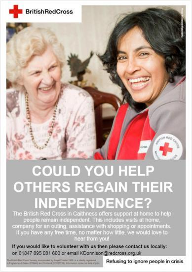 Photograph of Could You Help Others Regain Their Independence?