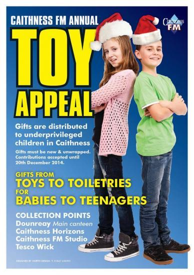 Photograph of Caithness FM Annual Toy Appeal