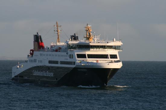 Photograph of Loch Seaforth The New Ferry For Western Isles Visits Scrabster