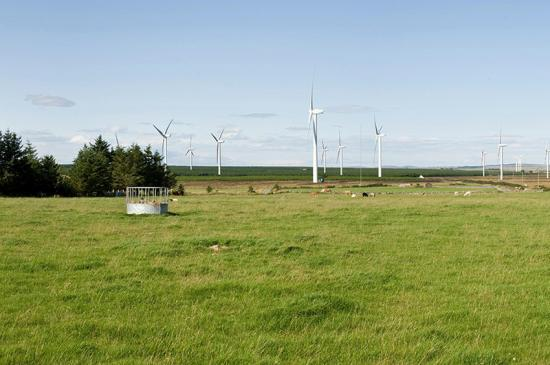 Photograph of Wind Farm Fund has Positive Impact on Local Community