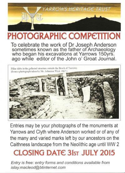 Photograph of Photographic Competition - Yarrows Heritage Trust