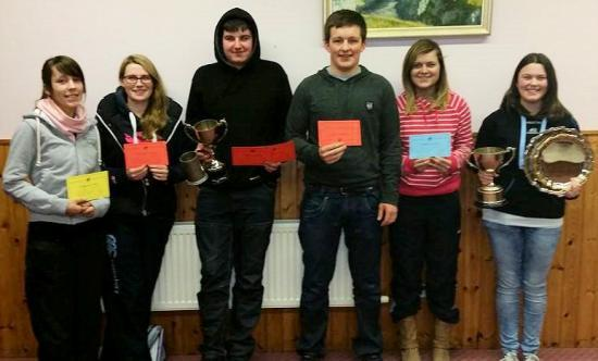 Photograph of Halkirk Young Farmers Winners 2015