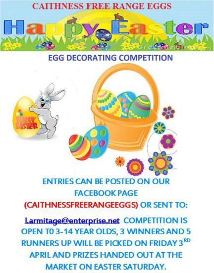 Photograph of Egg Decorating Competition