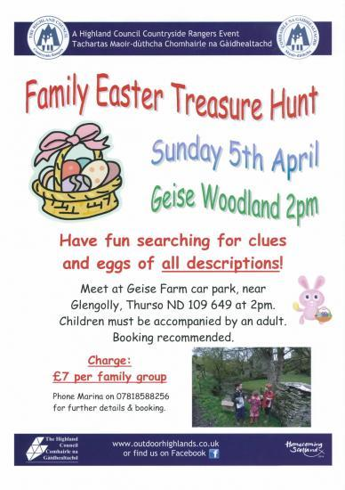 Photograph of Family Easter Treasure Hunt