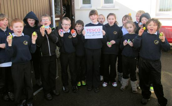 Photograph of Thrumster Primary Easter egg hunt/Coffee morning eggxellent success!!
