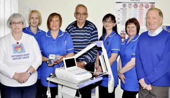 Photograph of Caithness Heart Support Group Presents More Medical Equipment