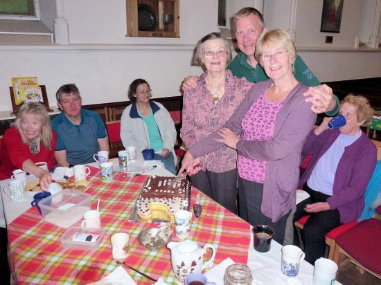 Photograph of 2nd Anniversary Celebration For Thurso Walking Group