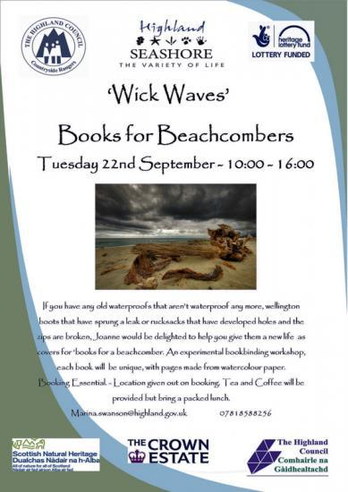 Photograph of Books for a Beachcomber with Joanne Karr
