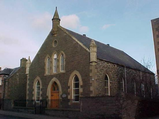 Photograph of Damage - Old Free Church, Sinclair Terrace,   Wick