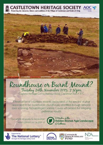 Photograph of Round House Or Burnt Mound