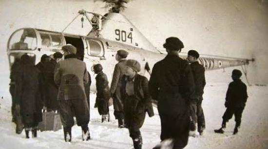 Photograph of Operation Snowdrop, 1955