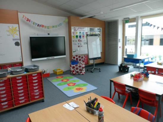 Photograph of Inside New Noss Primary School, Wick