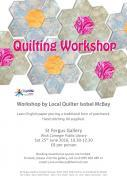 Thumbnail for article : Extra Quilting Workshop Due To High Demand