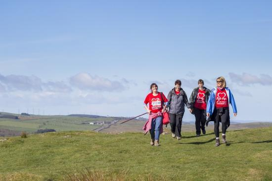 Photograph of Walk to help prevent heart disease