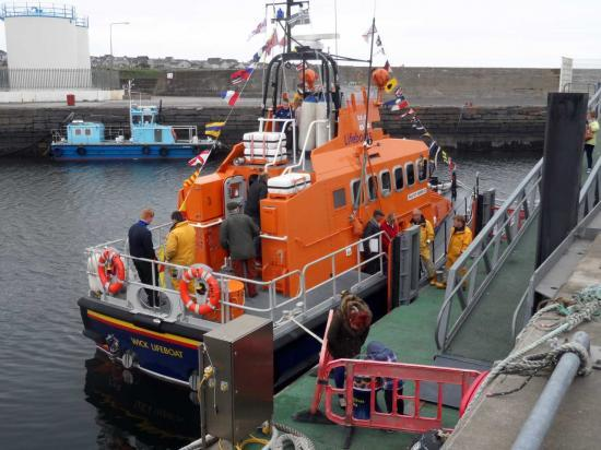 Photograph of Lifeboat Day At Wick Harbour